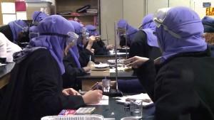 AHS Girls science class