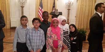 Al-Huda School Students Attend the White House Eid Reception