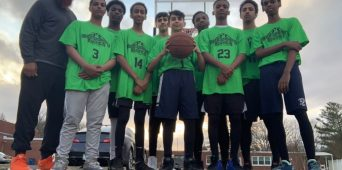 Al-Huda Basketball Team Plays First Game