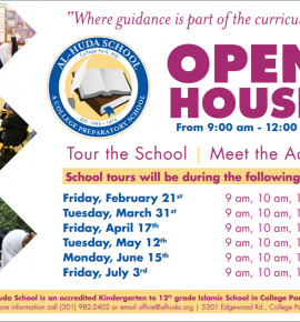 Al-Huda School Open House