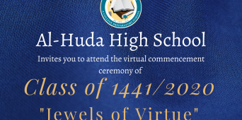 You Are Invited to the Virtual Commencement of the Class of 1441/2020!